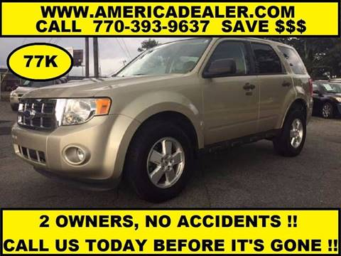 2011 Ford Escape for sale in Marietta, GA
