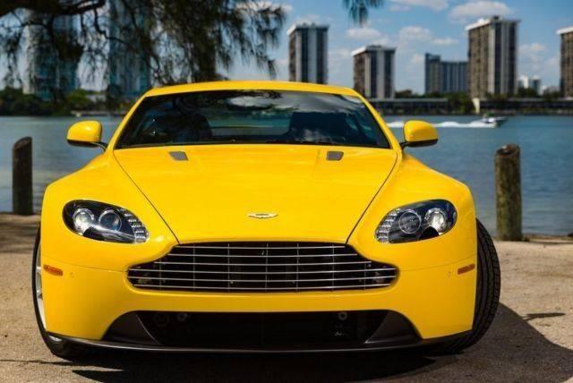 2012 Aston Martin V8 Vantage 2dr Coupe In Marietta Ga America Dealer