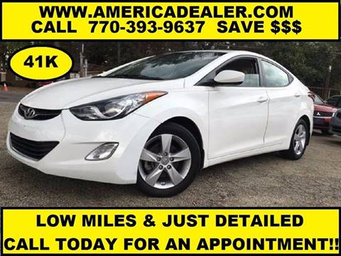 2013 Hyundai Elantra for sale in Marietta, GA