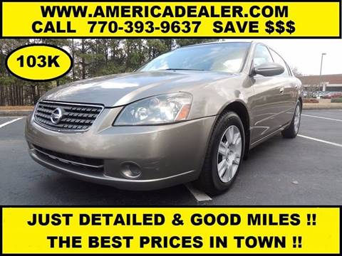 2005 Nissan Altima for sale in Marietta, GA