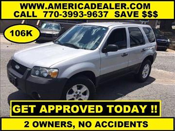 2007 Ford Escape for sale in Marietta, GA