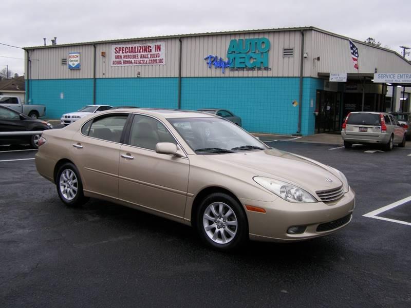 2002 Lexus ES 300 4dr Sedan   Columbia SC