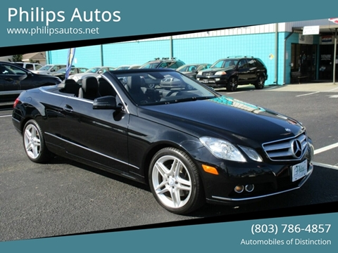 2011 Mercedes-Benz E-Class for sale in Columbia, SC