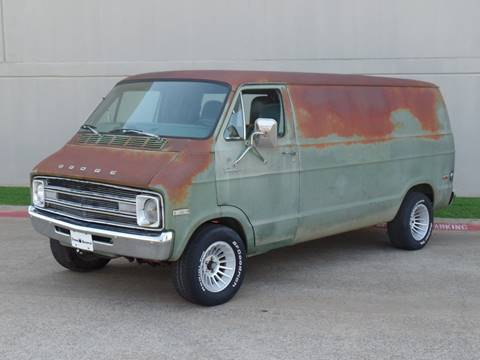 Dodge Conversion Van >> 1977 Dodge Ram Van For Sale In Arlington Tx