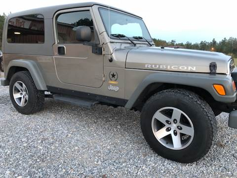 2005 Jeep Wrangler for sale in Mt Olive, MS