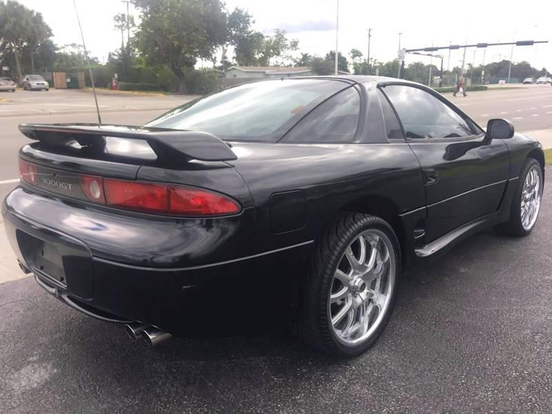 1995 Mitsubishi 3000GT SL 2dr Hatchback: 1995 Mitsubishi 3000GT Black RARE Hatchback 3.0L V6 Auto FLORIDA L@@K