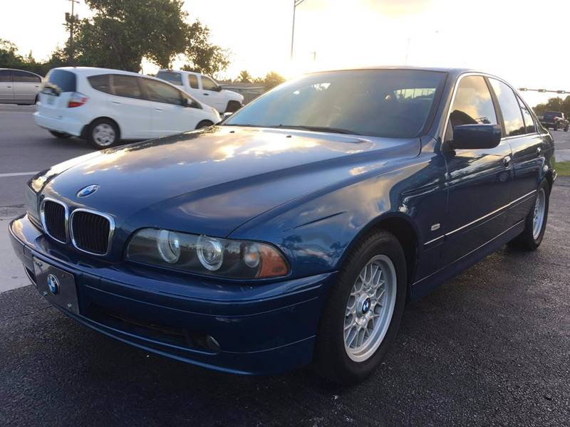 2001 BMW 5 Series 525i In Pompano Beach FL - KD\'s Auto Sales