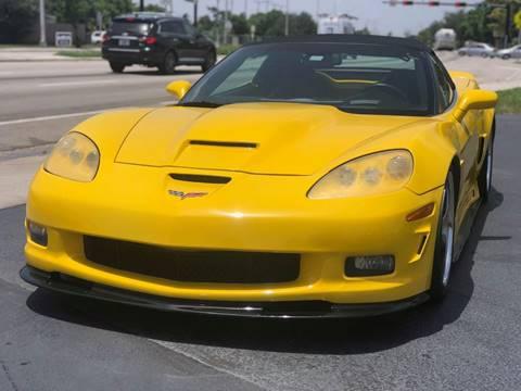 used 2006 chevrolet corvette for sale in florida. Black Bedroom Furniture Sets. Home Design Ideas