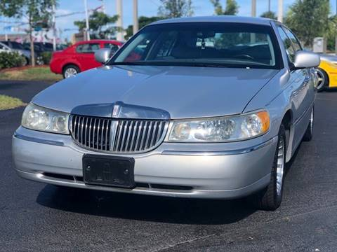 Used Lincoln Town Car For Sale Carsforsale Com