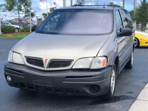 2001 Pontiac Montana for sale in Pompano Beach, FL
