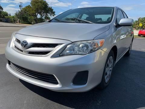 2011 Toyota Corolla LE for sale at KD's Auto Sales in Pompano Beach FL