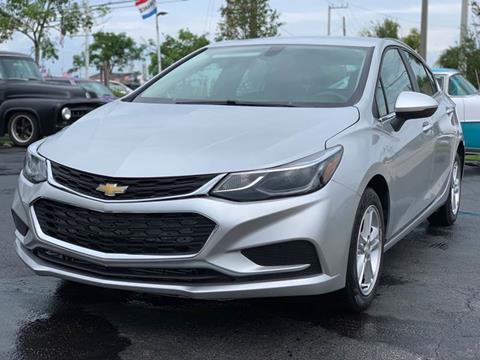2018 Chevrolet Cruze LT Auto for sale at KD's Auto Sales in Pompano Beach FL