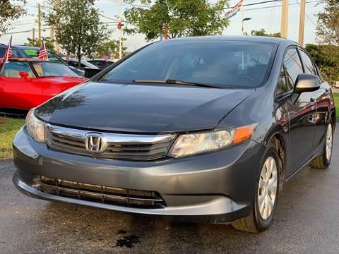 2012 Honda Civic for sale at KD's Auto Sales in Pompano Beach FL