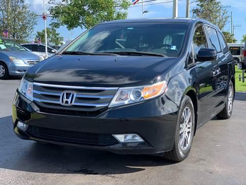 2012 Honda Odyssey for sale at KD's Auto Sales in Pompano Beach FL