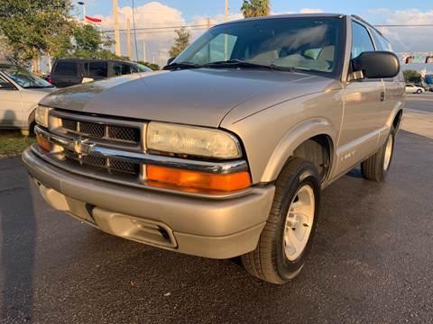 2004 Chevrolet Blazer for sale at KD's Auto Sales in Pompano Beach FL