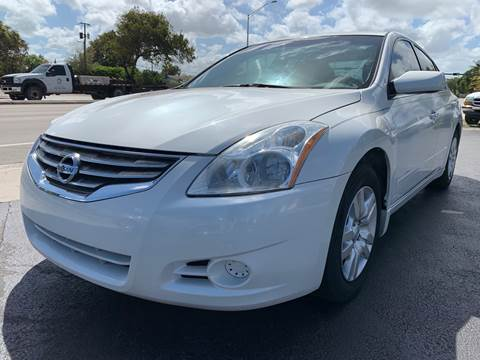 2012 Nissan Altima for sale at KD's Auto Sales in Pompano Beach FL