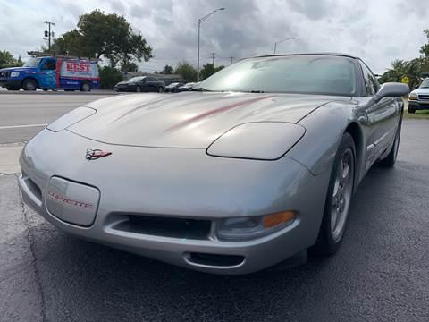 2000 Chevrolet Corvette for sale at KD's Auto Sales in Pompano Beach FL