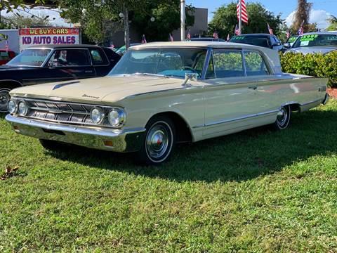 1963 Mercury Monterey for sale at KD's Auto Sales in Pompano Beach FL