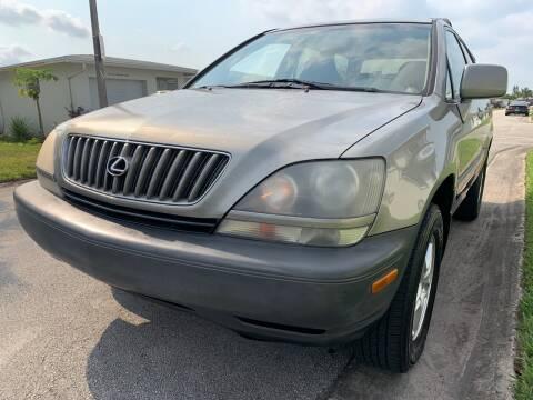 2000 Lexus RX 300 for sale at KD's Auto Sales in Pompano Beach FL