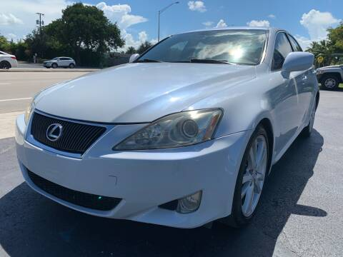 2007 Lexus IS 250 for sale at KD's Auto Sales in Pompano Beach FL