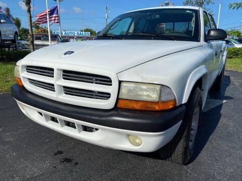 2003 Dodge Dakota for sale at KD's Auto Sales in Pompano Beach FL