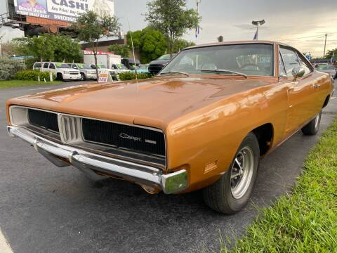 1969 Dodge Charger for sale at KD's Auto Sales in Pompano Beach FL