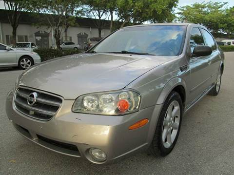 2002 Nissan Maxima for sale in Margate, FL