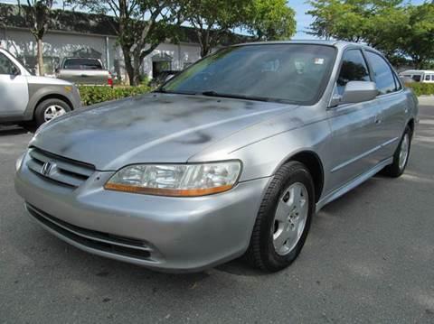 2001 Honda Accord for sale in Margate, FL