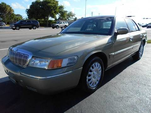 2001 Mercury Grand Marquis for sale in Margate, FL