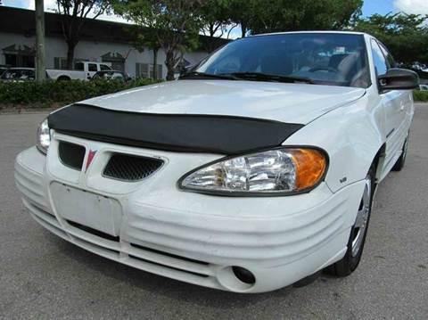 2001 Pontiac Grand Am for sale in Margate, FL