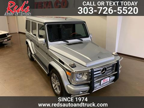 2011 Mercedes-Benz G-Class for sale in Longmont, CO