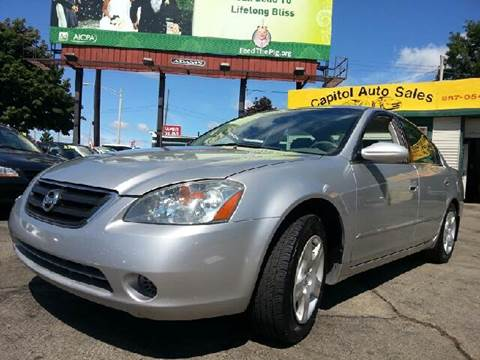 2002 Nissan Altima for sale at Capitol Auto Sales in Lansing MI