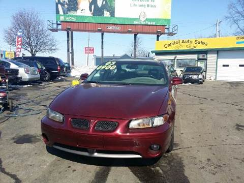2002 Pontiac Grand Prix for sale at Capitol Auto Sales in Lansing MI