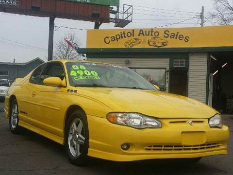 2004 Chevrolet Monte Carlo for sale at Capitol Auto Sales in Lansing MI
