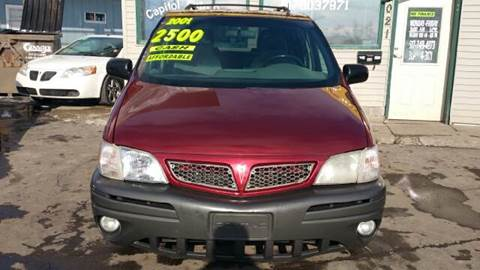 2001 Pontiac Montana for sale at Capitol Auto Sales in Lansing MI