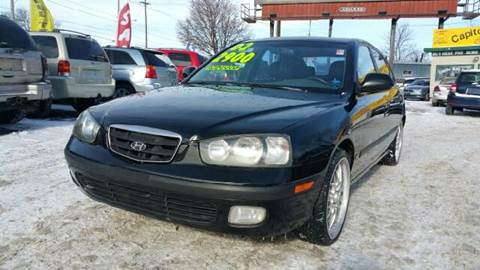 2001 Hyundai Elantra for sale at Capitol Auto Sales in Lansing MI