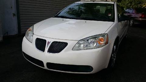 2006 Pontiac G6 for sale at Capitol Auto Sales in Lansing MI