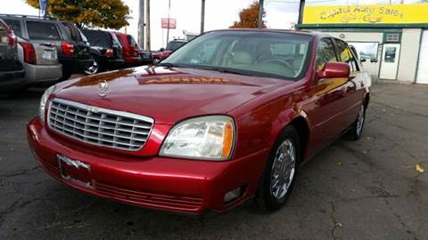 2003 Cadillac DeVille for sale at Capitol Auto Sales in Lansing MI