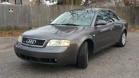 2001 Audi A6 for sale at Capitol Auto Sales in Lansing MI