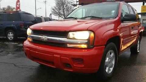 2002 Chevrolet TrailBlazer for sale at Capitol Auto Sales in Lansing MI