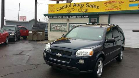 2006 Chevrolet Uplander for sale at Capitol Auto Sales in Lansing MI
