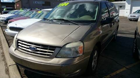 2005 Ford Freestar for sale at Capitol Auto Sales in Lansing MI