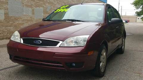 2007 Ford Focus for sale at Capitol Auto Sales in Lansing MI