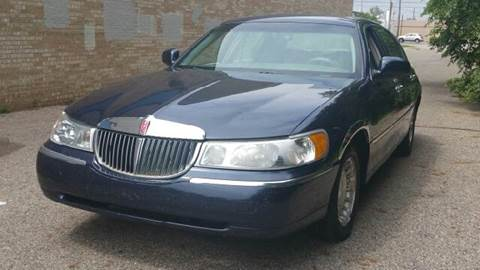 2002 Lincoln Town Car for sale at Capitol Auto Sales in Lansing MI