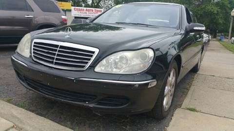 2005 Mercedes-Benz S-Class for sale at Capitol Auto Sales in Lansing MI