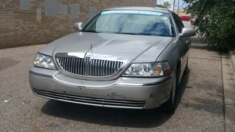 2003 Lincoln Town Car for sale at Capitol Auto Sales in Lansing MI