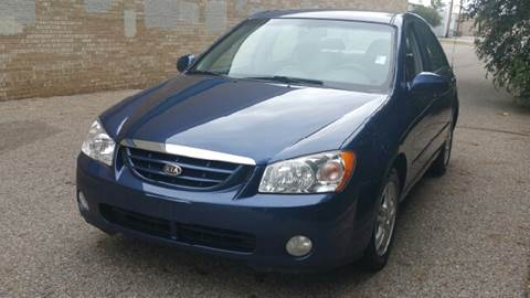 2004 Kia Spectra for sale at Capitol Auto Sales in Lansing MI