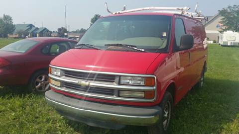 2001 Chevrolet Express Cargo for sale at Capitol Auto Sales in Lansing MI
