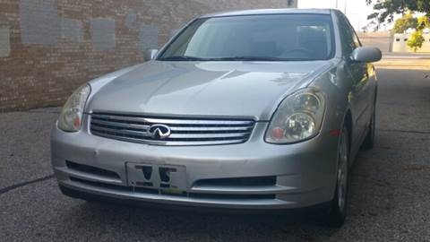 2003 Infiniti G35 for sale at Capitol Auto Sales in Lansing MI