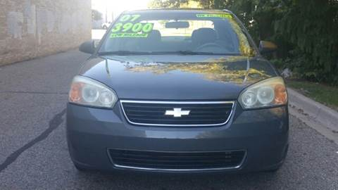 2007 Chevrolet Malibu for sale at Capitol Auto Sales in Lansing MI